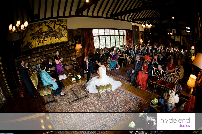 wedding ceremony at ramster