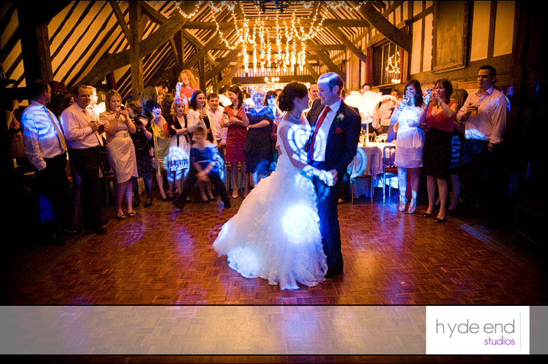 bride and groom dance at ramster